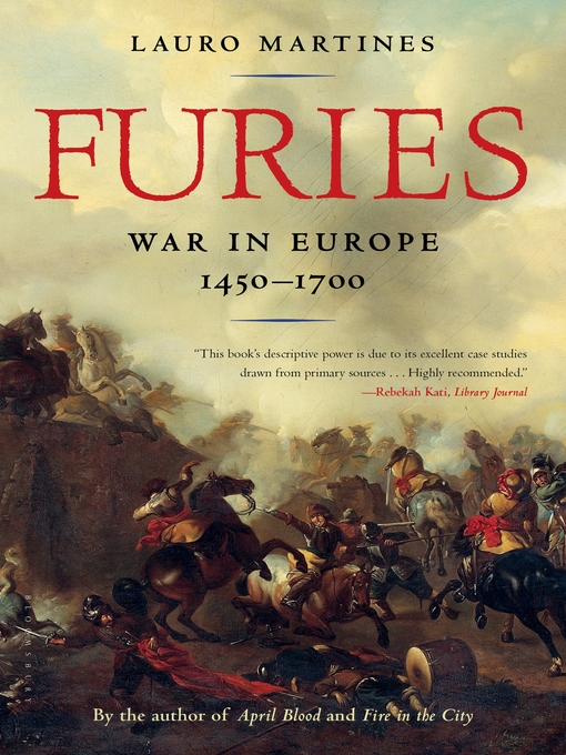 Title details for Furies by Lauro Martines - Available